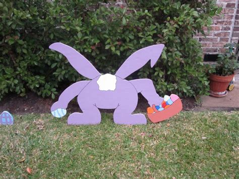 easter yard art 187 dumb white husband