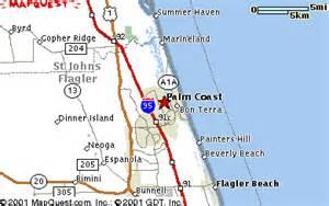 map of florida palm coast palm coast florida maps