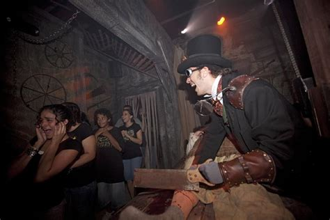terror nights haunted house a taste of terror surviving zombies roller coasters and