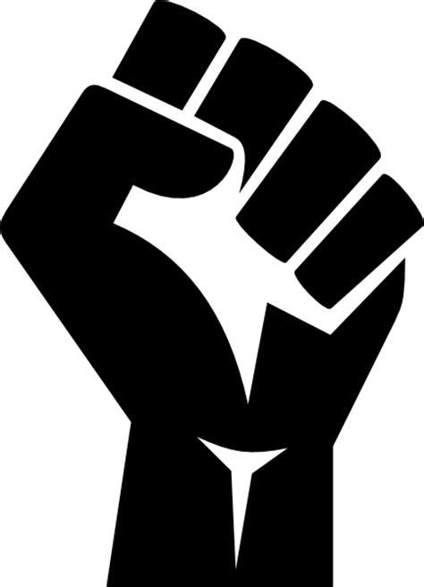 raised fist clip art at clker com vector clip art online