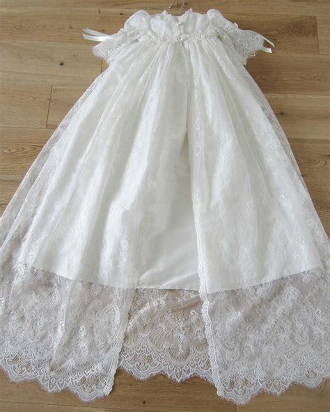 Baju Bayi Untuk Baptis christening gown and bonnet amelia by adore baby notonthehighstreet