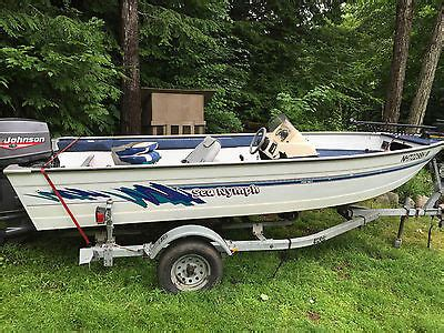 16 foot boat for sale 16 foot sea nymph boats for sale