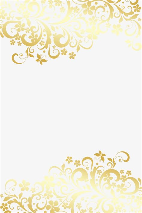 gold pattern frame golden european pattern background golden pattern frame