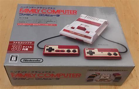 Nintendo Mini Famicom test famicom mini devez vous craquer pour la mini