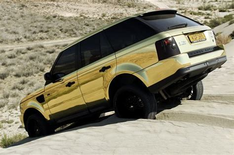 gold chrome range rover chrome range rover my style pinterest