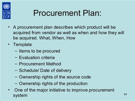 strategic purchasing plan template procurement best practices