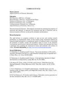 Curriculum Vitae Professor by Resume Examples Professor Resume Example Resume Example