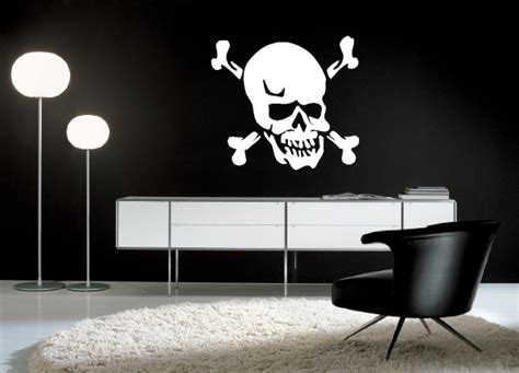 custom skull wall decals and skull wall decals