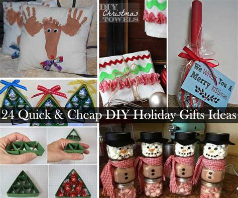 christmas gifts ideas 24 quick and cheap diy christmas gifts ideas amazing diy