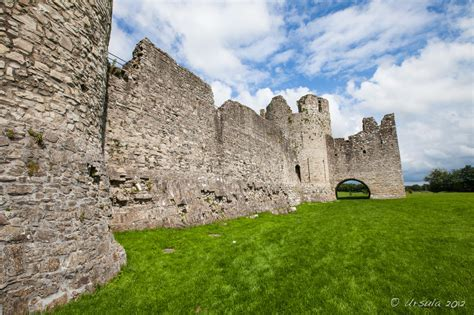 curtain wall castle facts trim castle county meath ireland