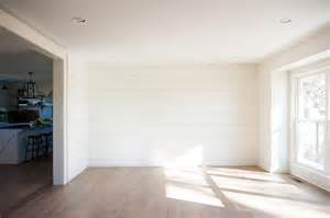 White Shiplap Accent Wall White Paint Colors 5 Favorites For Shiplap The House
