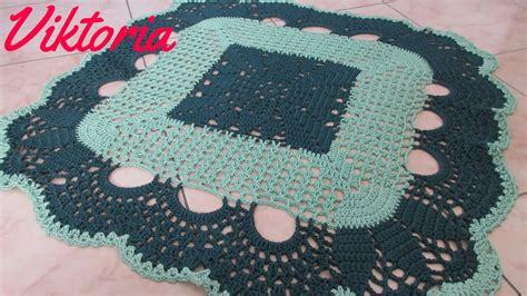 tappeto uncinetto tutorial parte1 3 tappeto centrino all uncinetto