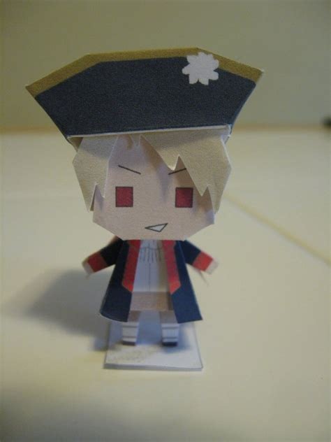 Paper Dolls Craft - paper craft doll prussia by in darkness on deviantart