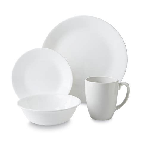 corelle deals corelle livingware 16 dinnerware set winter white home dining entertaining