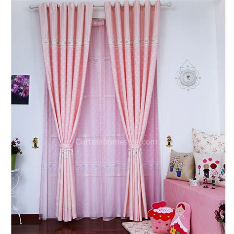 bedroom curtains for girls pink girls bedroom sweet heart shapes kids curtains and drapes