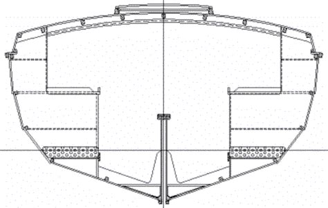 boat hull sections cape cutter 19 boat plans