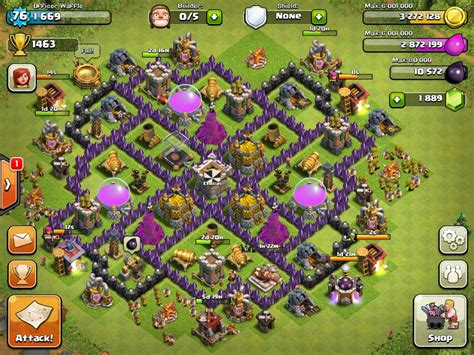 offensive layout in coc image coc farming jpg clash of clans wiki