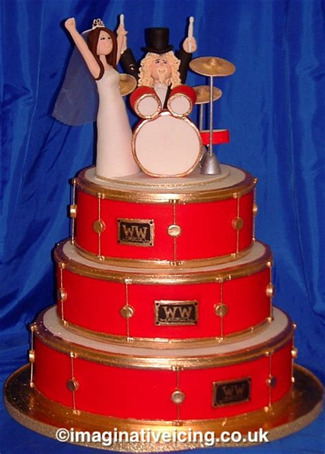 Wedding Cake Kit by Drum Set Wedding Cake Www Pixshark Images