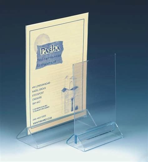 Acrylic Menu acrylic menu holder amh 01 tw china manufacturer promotion gifts arts crafts products