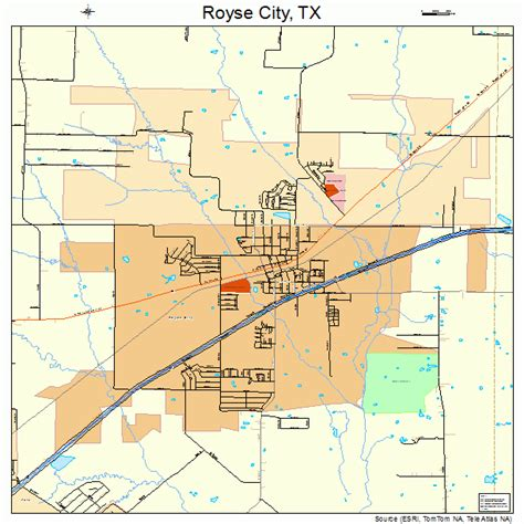 city texas map royse city texas map 4863668