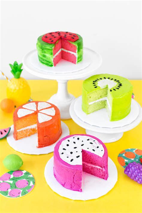 6 fruit cake fruit slice cakes studio diy
