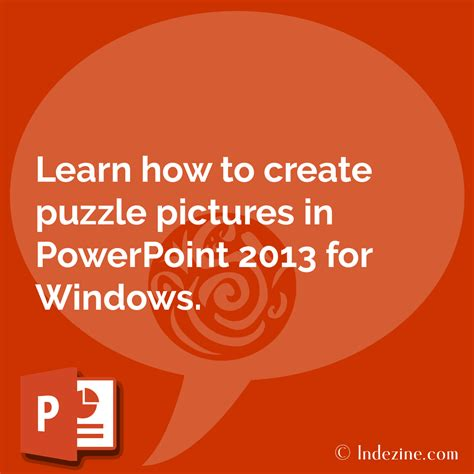 Puzzle Pictures In Powerpoint 2013 How To Create A Jigsaw Puzzle In Powerpoint