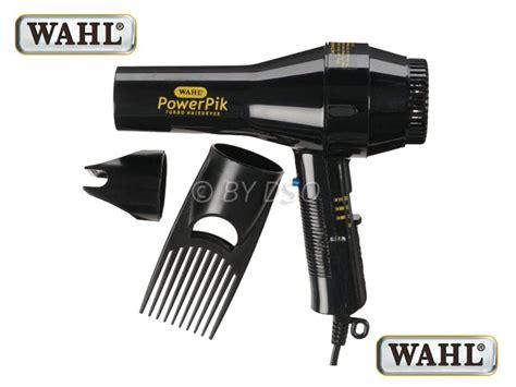 Wahl Hair Dryer Ebay wahl powerpik hair dryer with afro pik 1250w black zx052 ebay