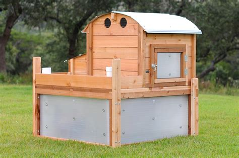 Round Top Backyard Chicken Coop Urban Coop Company Best Backyard Chicken Coops