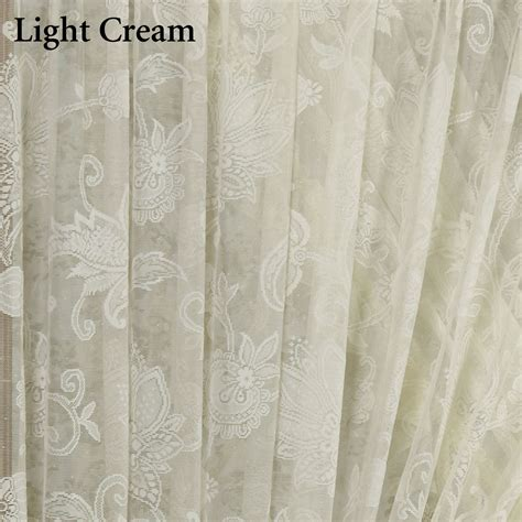 lace priscilla curtains maison semi sheer lace ruffled priscilla curtains
