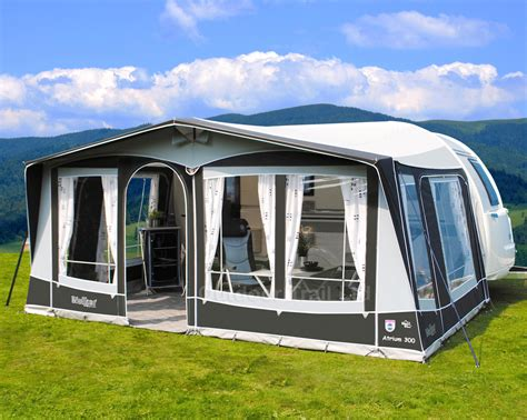 seasonal caravan awnings walker atrium 300 seasonal caravan awning fibreglass frame