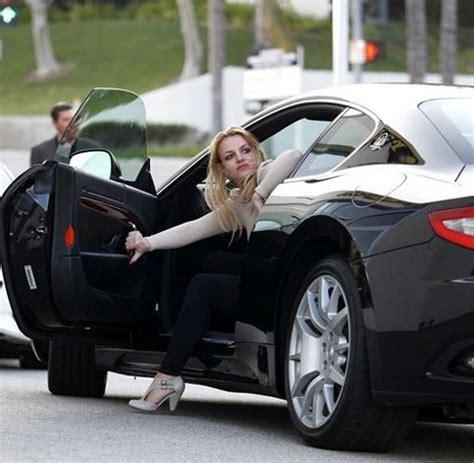 maserati celebrity britney spears cars celebrity cars blog