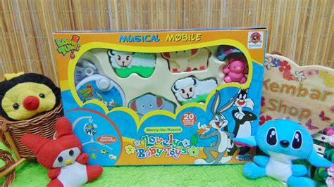 Mainan Bayi Kricik Baby Toys kado bayi baby gift mainan bayi gantung musical mobile