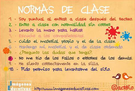 normas de clase imagenes educativas normas de clase imagenes educativas