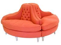 circle banquette settee lobby sofa 16 best ideas about banquette round sofa on pinterest