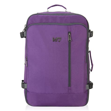 carry on purple lightweight expandable suitcase tote bag