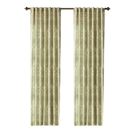 back tab drapes martha stewart living cream outdoor back tab curtain