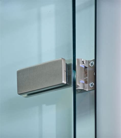 Hinge Glass Door Frameless Hinged Glass Doors For Modular Office Wall