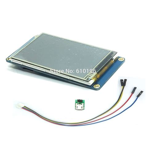 Lem Touch Screen Lcd nextion 3 2 quot tft 400x240 resistive touch screen display hmi lcd display module tft touch panel
