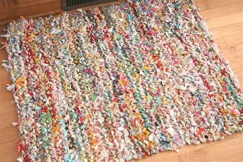 How To Knit A Rug by How To Knit A Rag Rug Make