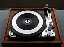 Image result for idler drive turntable. Size: 220 x 160. Source: www.canuckaudiomart.com