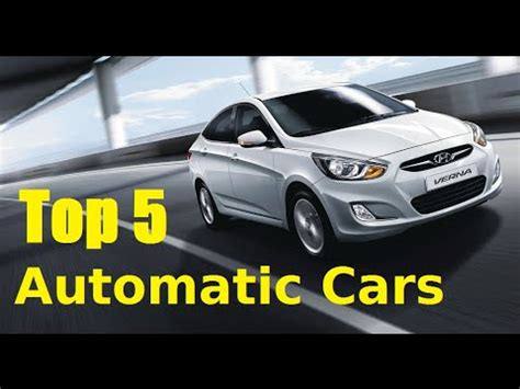 best for transmission 5 best automatic cars launched in india 2015 petrol