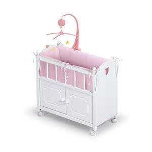 Babies R Us Toddler Bed Uk Doll Crib With Cabinet Bedding And Mobile Toysrus