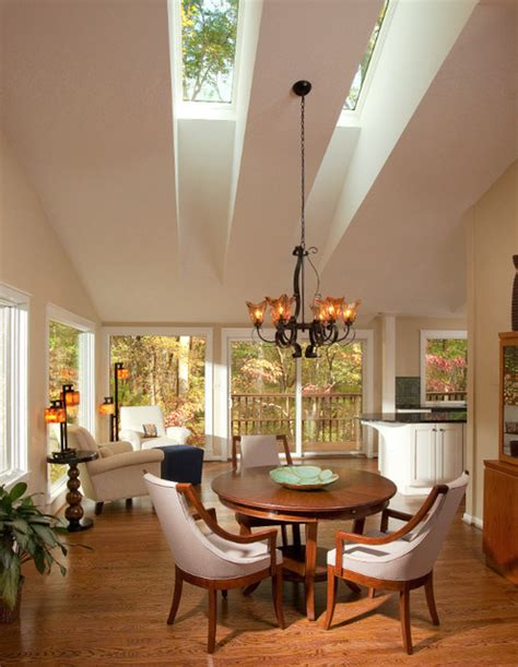 living room skylight living room with skylights contemporary living room dc metro by architects