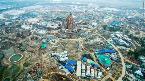 disney shanghai disney s massive new shanghai resort prepares to open