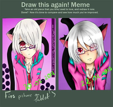 Meme And Neko - meme draw it again neko girl by xxkimikosanxx on deviantart