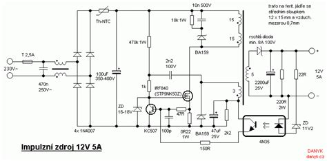 need schematics of smps 13 8v 2a