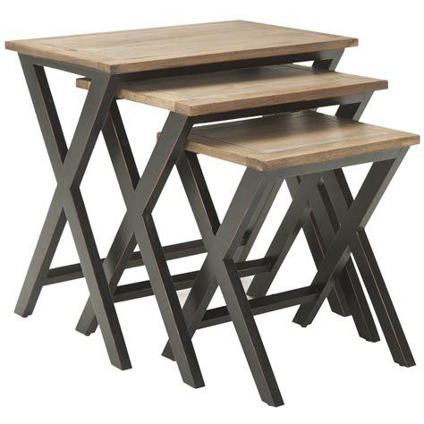 Loon Peak 3 Piece Edgecomb Nesting Table Set Reviews