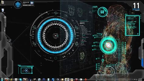 iron man jarvis animated wallpaper wallpapersafari