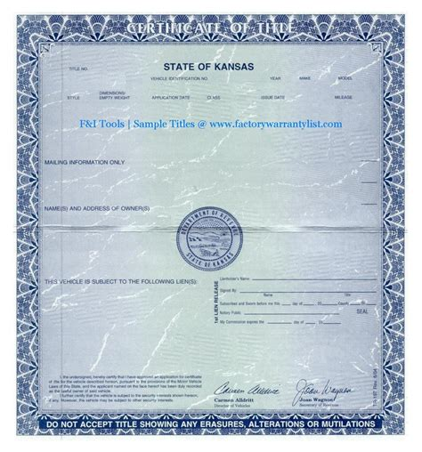 My Title my vehicle title
