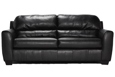 Onyx Durablend Leather Sofa At Gardner White Durablend Leather Sofa